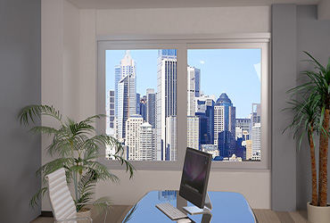 Architectural Sliding Window 150mm Frame